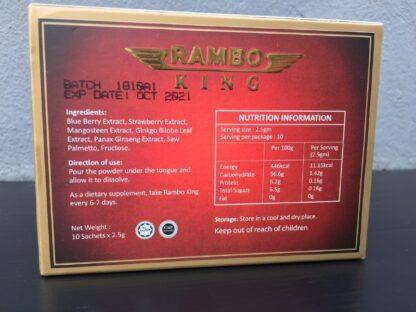 rambo king box